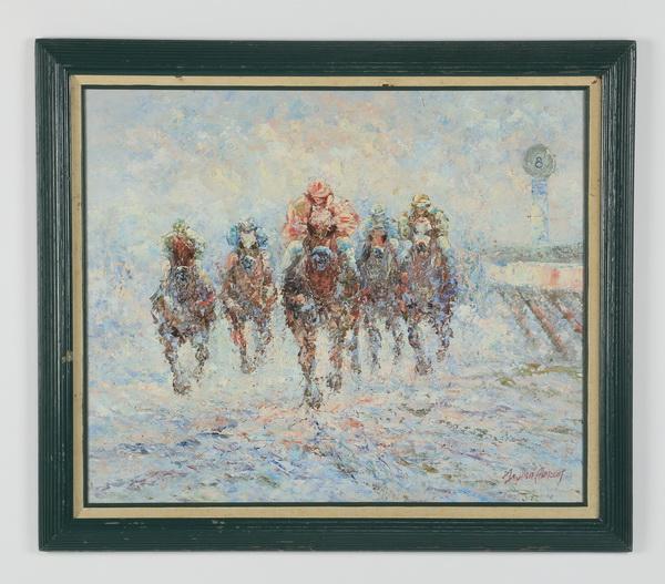 American School O/c 'The Horse Race', 28