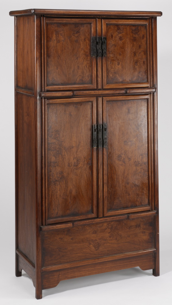 Chinese wooden compound cabinet, 70
