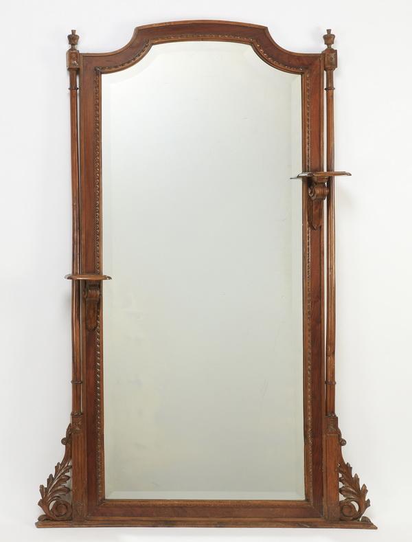 Renaissance Revival style pier mirror, 73