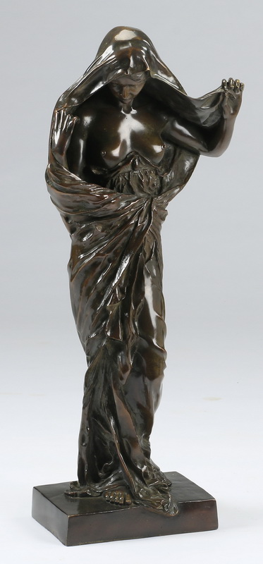 Bronze of 'Nature Revealing Herself,' 30