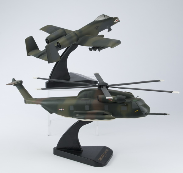 (2) Models of Vietnam era aircraft, incld a 'Warthog'