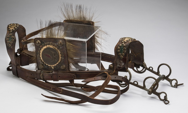 Western horse bridle once belonging to Jerry Garcia