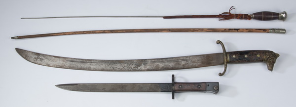 (4) European edged weapons, largest 28