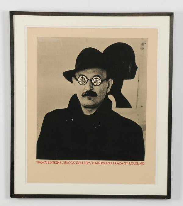 Ernesto Tino Trova (American) signed lithograph, 33
