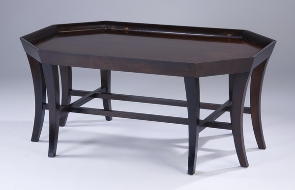 Octagonal coffee table, 46