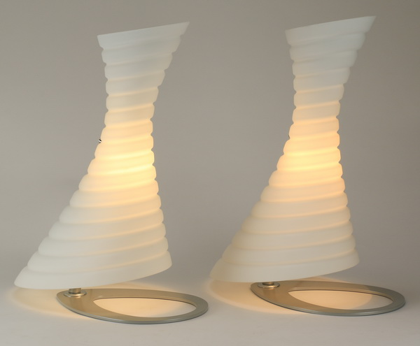 (2) Contemporary Italian table lamps, 19