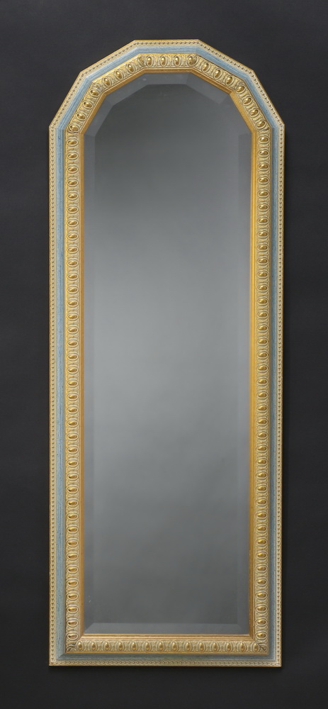Italian beveled glass mirror, 49