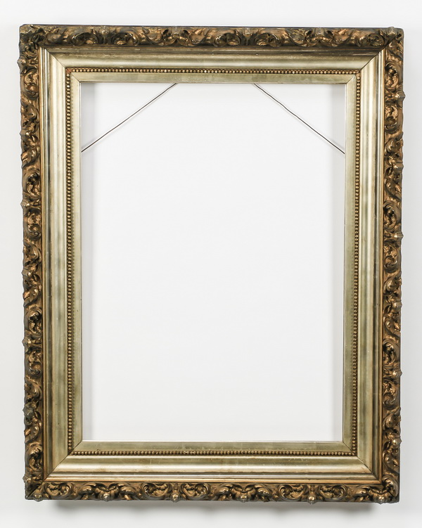 Carved gilt wood frame, 40