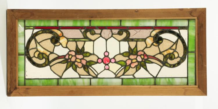 American Victorian stained glass window, 39
