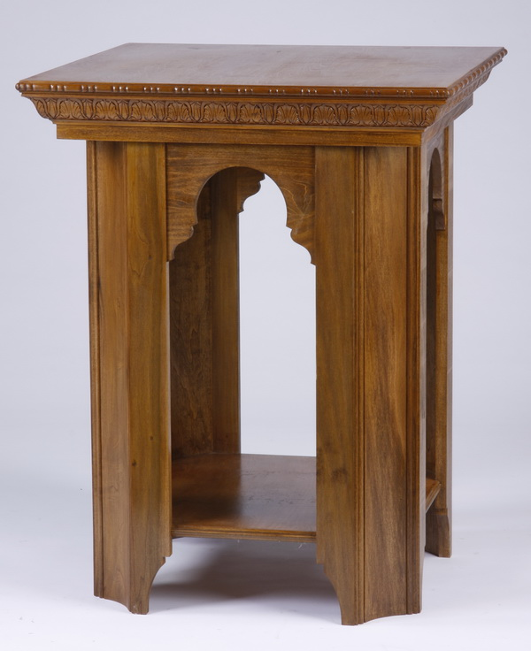 Gothic inspired side table, 37