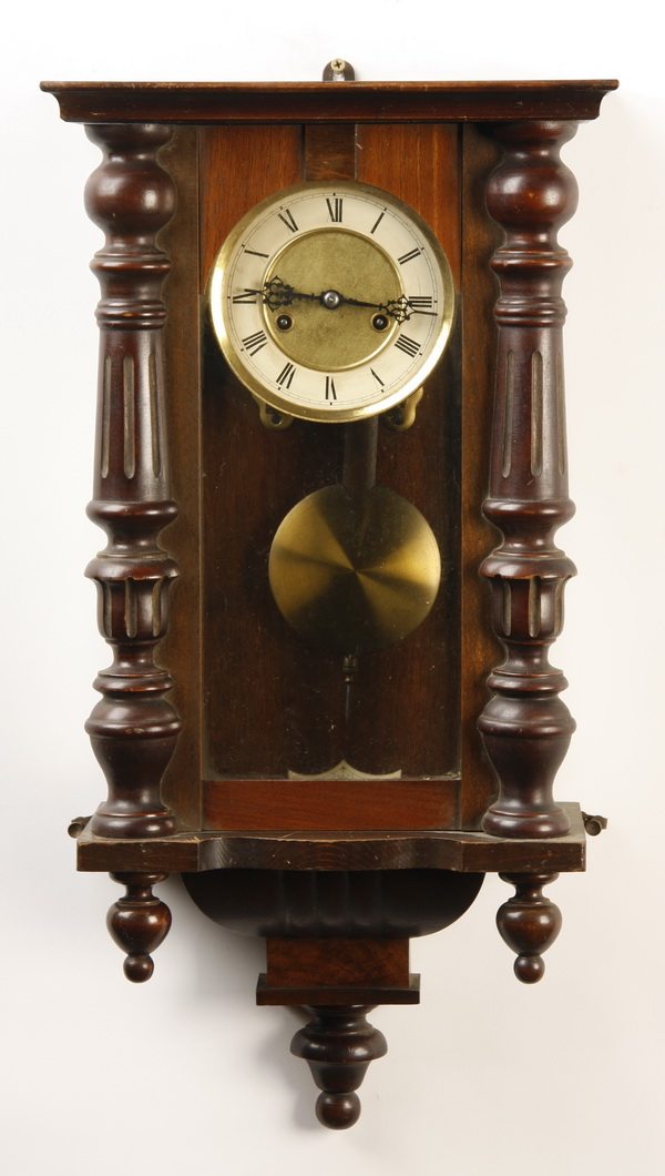 19th c. Vienna regulator clock, 26