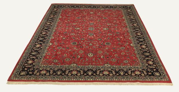 Hand knotted Sino-Kerman wool carpet, 10 x 15