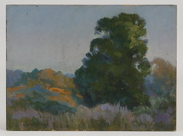 (3) Early 20th c. signed landscape studies