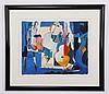Ali Golkar signed lithograph, Ali Golkar, Click for value