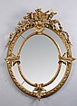 19th c. carved gilt wood and gesso mirror
