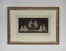 """Giovanni Martino dei Boni etching after Canova, 45""""w"""