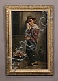 19th c. oil on canvas, signed Wilson, David (1873/1950) Wilson, Click for value