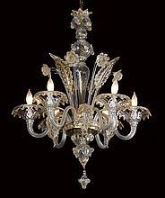 Early 20th c. Venetian Murano chandelier