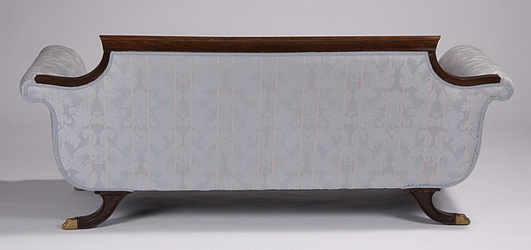 Early 20th C American Empire Style Sofa