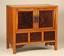 Early 20th c. Chinese cabinet