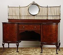 19th c. English mahogany buffet