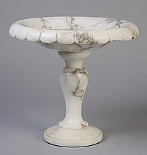 Early 20th c. marble tazza