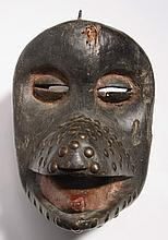 Baule monkey mask, Ivory Coast