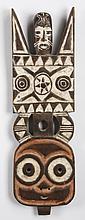 Bwa Bobo plank mask, Burkina Faso