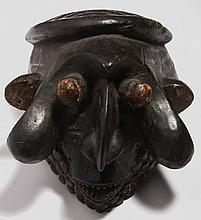 Bamum Kingdom helmet mask, Cameroon