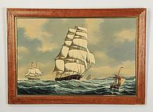 S. Colacicco O/panel 'Sovereign of the Seas'