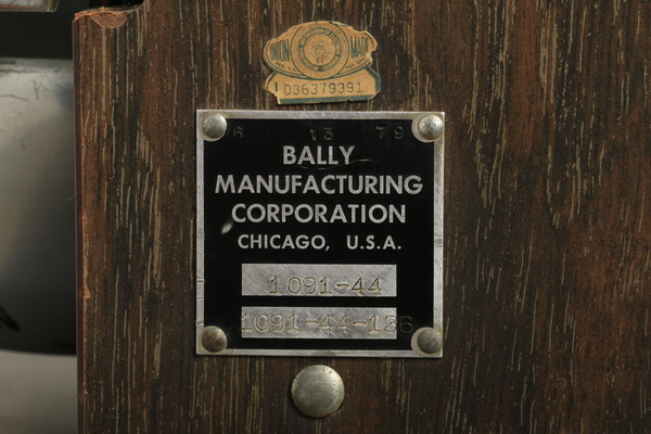 Bally manufacturing corporation chicago slot machines