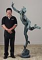 19th c. Italian bronze sculpturr, 72h
