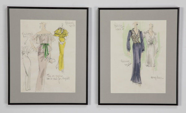 Edith Head Artwork For Sale At Online Auction Edith Head Biography Info