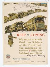 WWI 'Waste Nothing' US Food Admin poster, ca. 1914