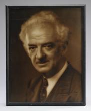 Autographed photo of magician Harry Blackstone Sr.