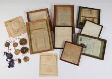 Georgia document archive with early land grants