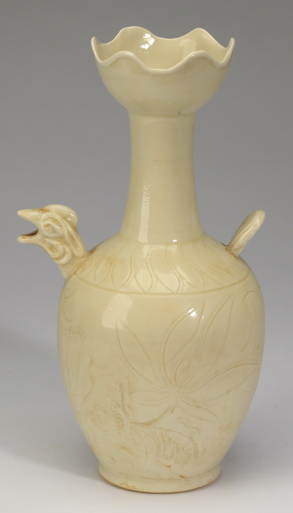 Chinese Liao style bird head ewer, 10