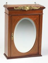 Early 20th c. French hanging wall cabinet, 27