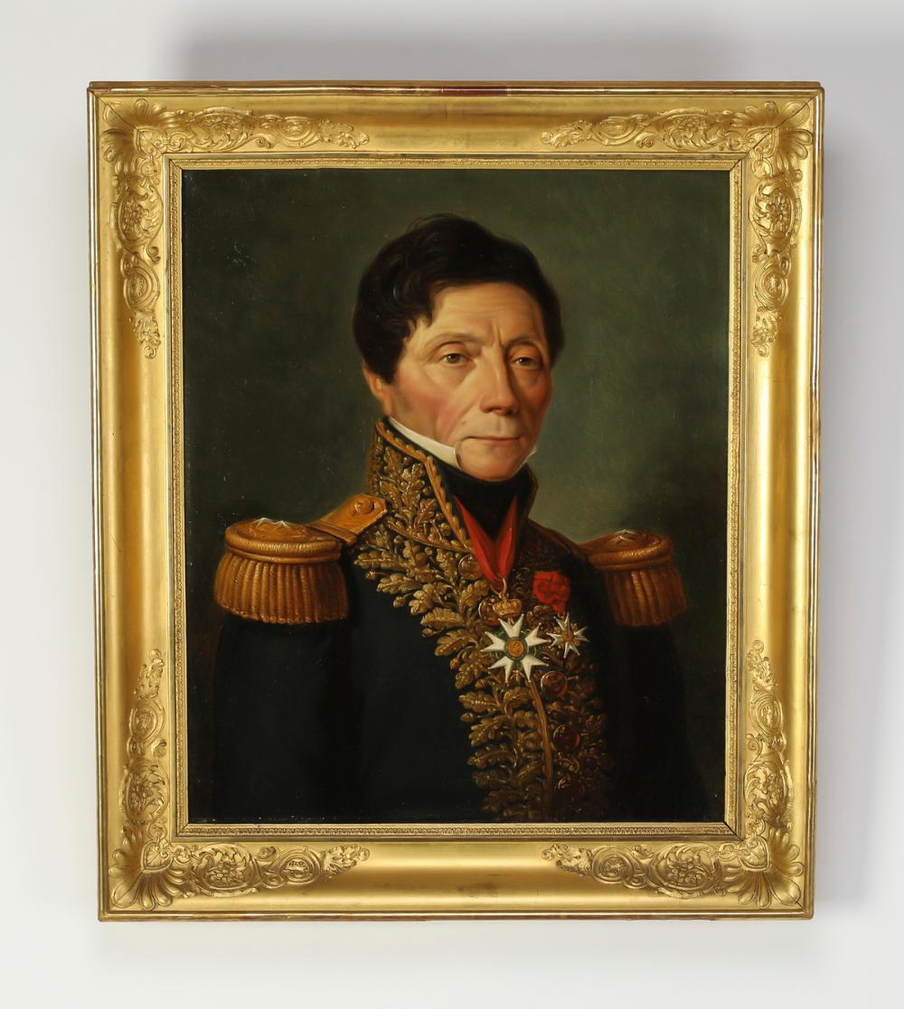 19th c. Continental O/c portrait of a French general