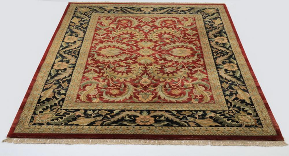 Indo-Sultanabad hand knotted wool carpet, 12' x 9'