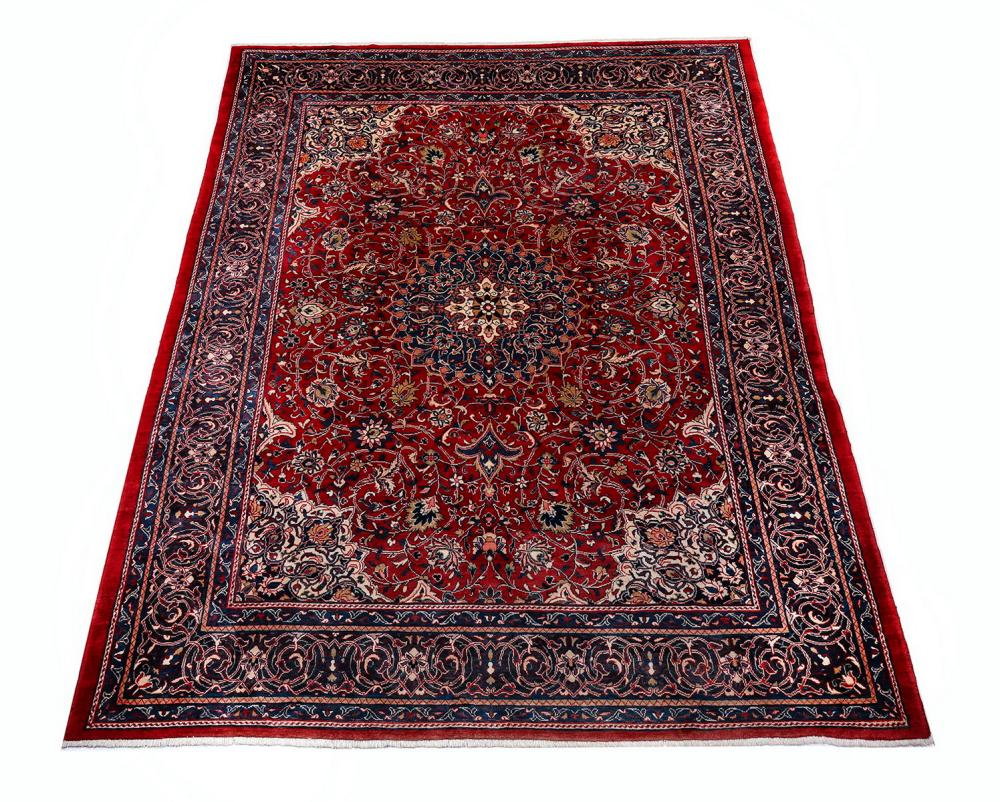 Hand knotted wool Persian Tabriz, 13 x 10
