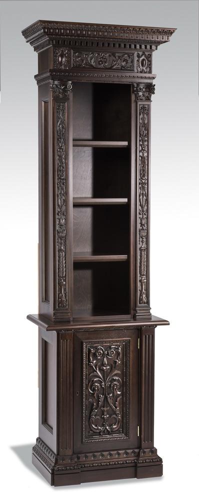 American Renaissance Revival style mahogany cabinet