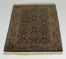 Hand knotted wool Indo-Persian carpet