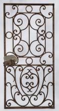 19th c. wrought iron door or garden gate