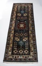 Hand knotted Karachopf Kazak style wool carpet, 10'l