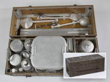 WWII (60) piece vintage Italian field kitchen