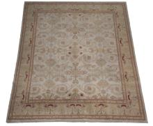 Hand knotted Indo-Oushak wool rug,  12 x 15
