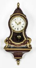 Zenith Le Locle bracket clock with shelf, 19