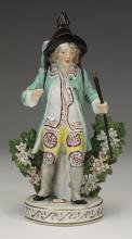 Early 20th c. Dresden porcelain figure