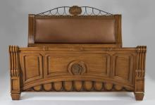 Contemporary king bedstead by Phyllis Morris, 63
